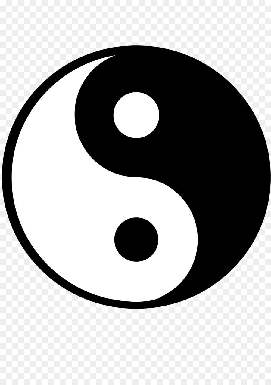 Yin And Yang Clip Art Yin Yang Tai Chi Png Download 16972400