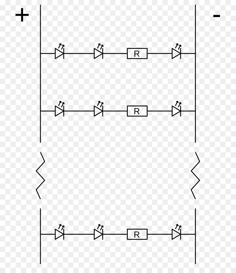 Circuito Led : Diagrama de cableado diagrama de circuito esquemático de los cables