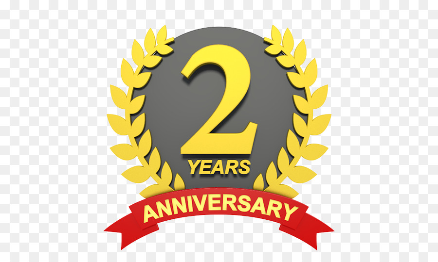 Wedding Anniversary Clip Art 2nd Anniversary Png Download 540