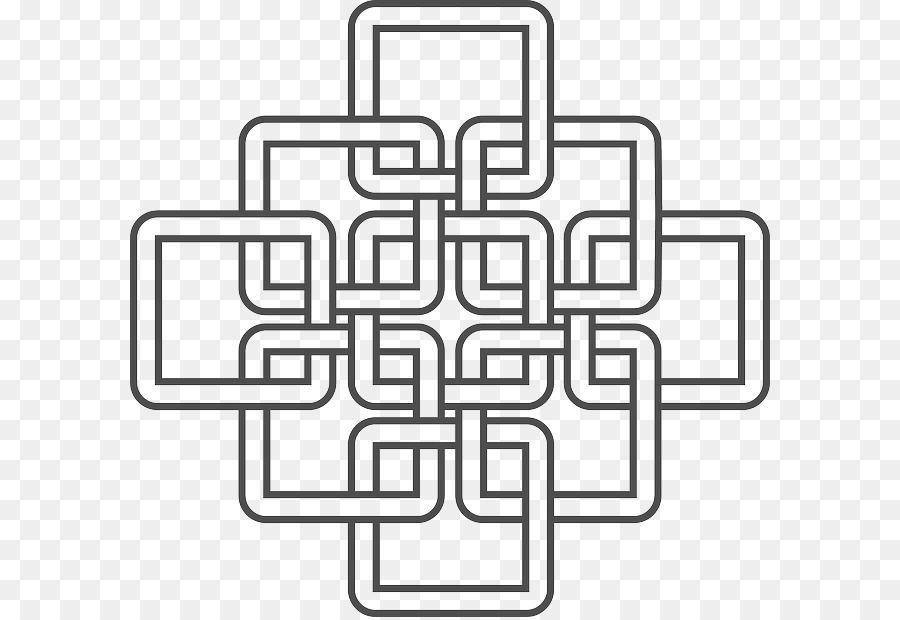 Nudo celta Celtas Color de Clip art - patrón llama Formatos De ...