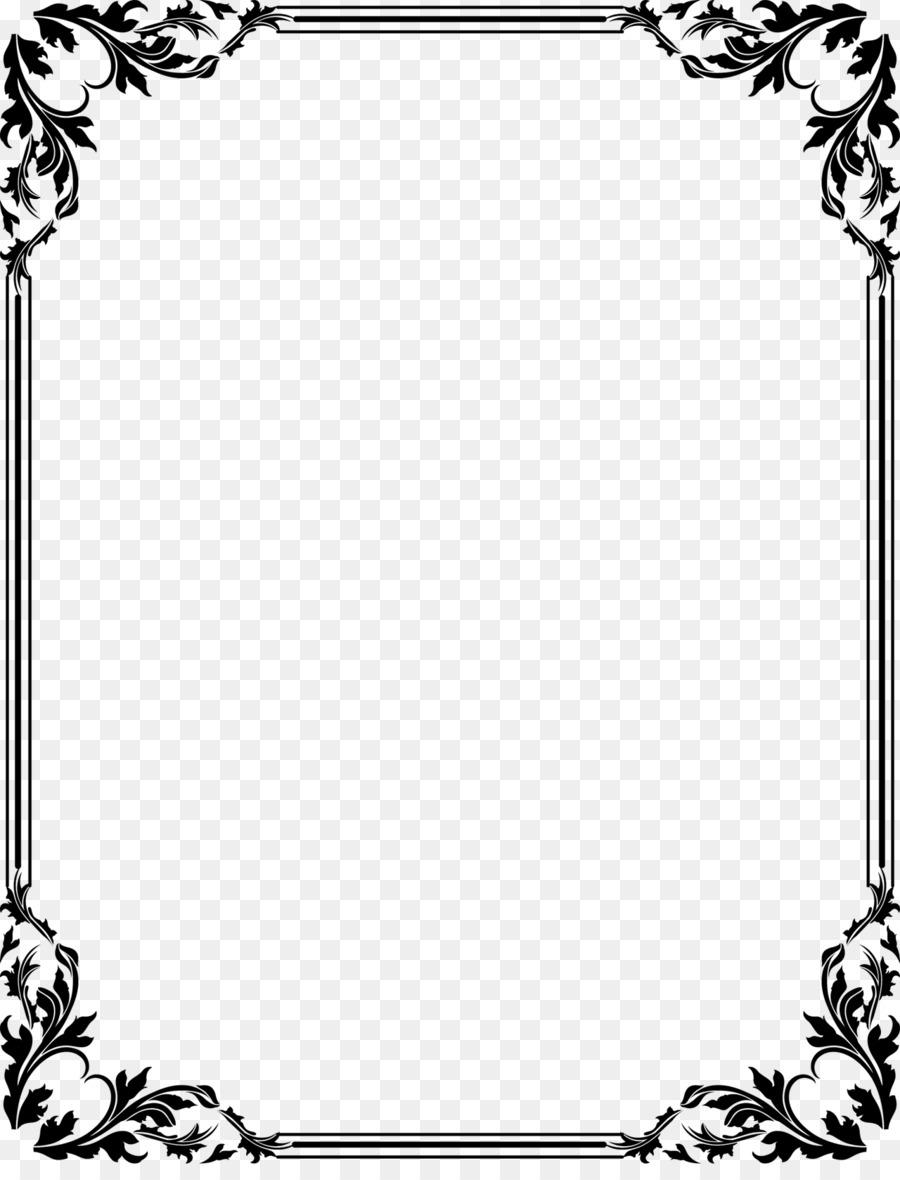Wedding invitation Clip art - three-dimensional border png download ...