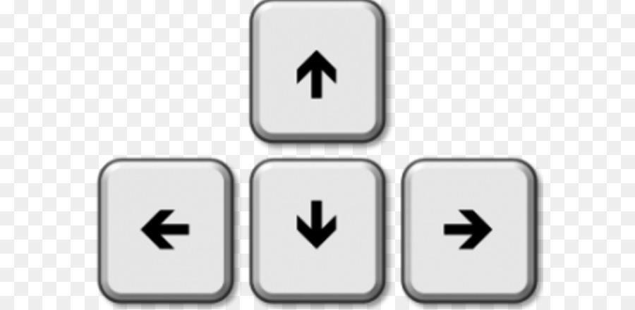 Computer Keyboard Arrow Keys Clip Art Arrow Png Download 640439