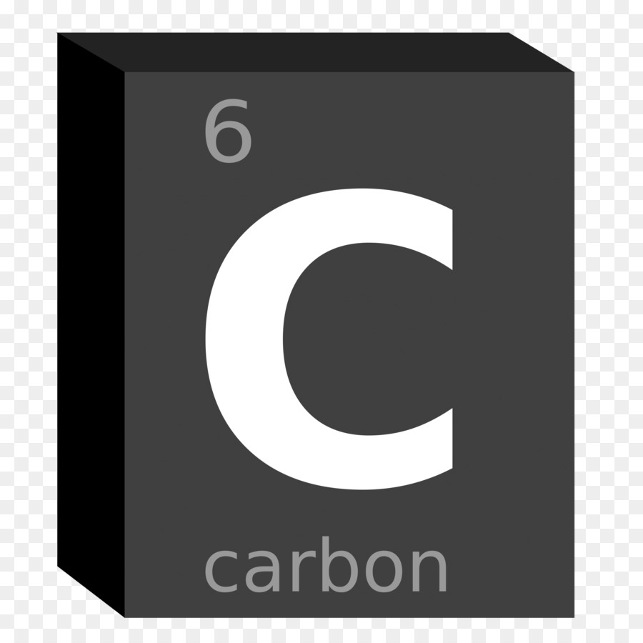 Symbol Chemical Element Periodic Table Chemistry Carbon Symbol Png