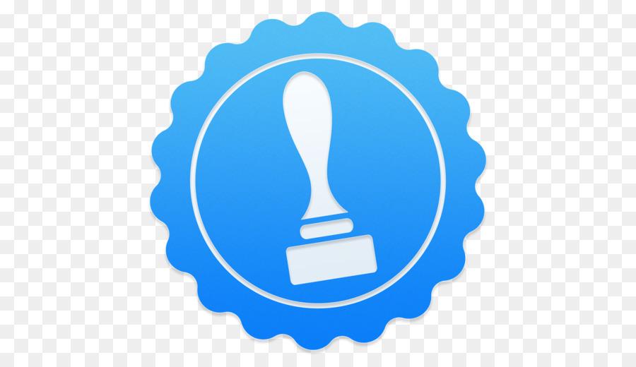 Watermark Blue png download - 512*512 - Free Transparent Watermark