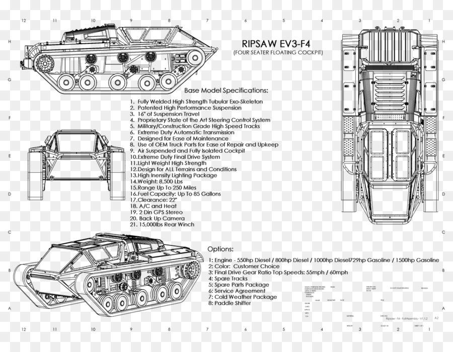Ripsaw Drawing Tank Car Howe & Howe Technologies - mud tracks png ...
