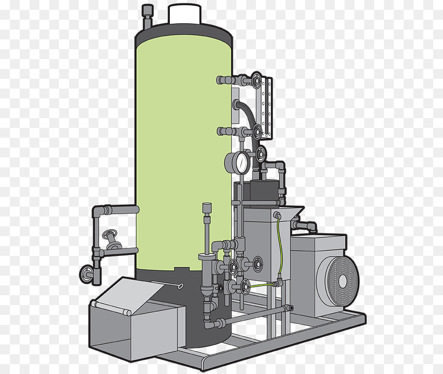Steam engine Machine Boiler Steam turbine - steam engine png ...