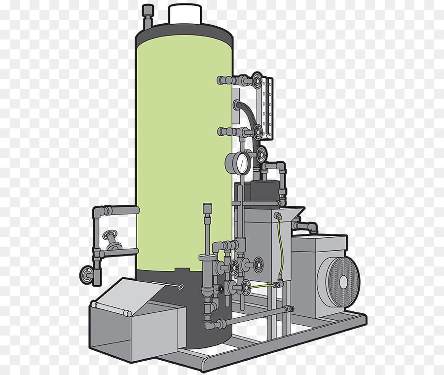 Steam engine Machine Boiler Steam turbine - steam engine png ...