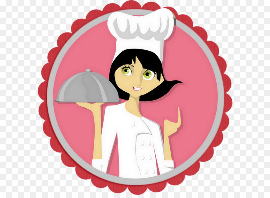 El Chef De Cocina Mujer Clip Art