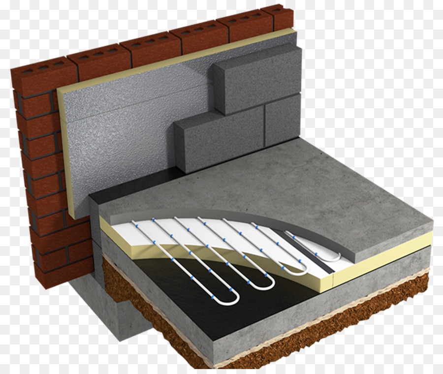 Underfloor Heating Thermal Insulation Building Box Angle Png