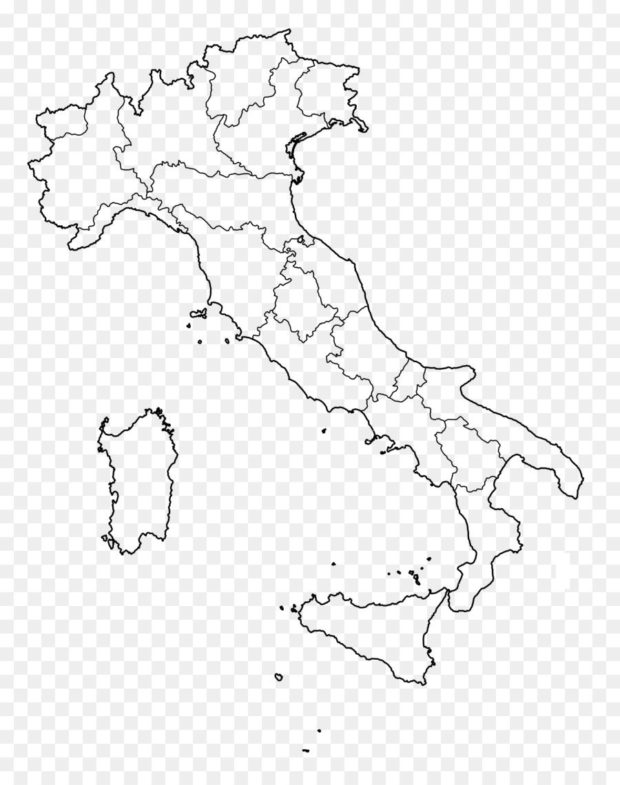 Regions Of Italy Veneto San Marino Blank Map Italian Png Download