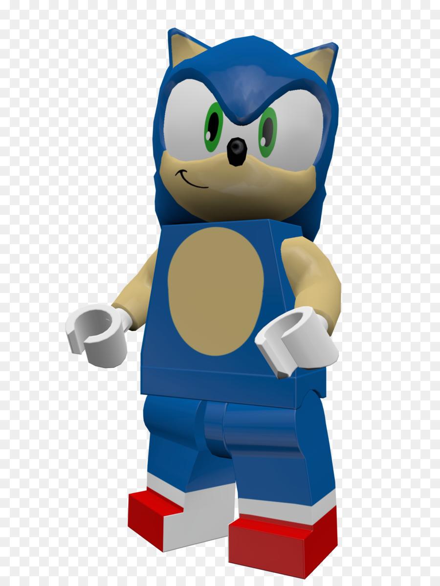 Sonic The Hedgehog Lego Dimensi Mainan Ideas Karakter Kartun Lucu Gambar