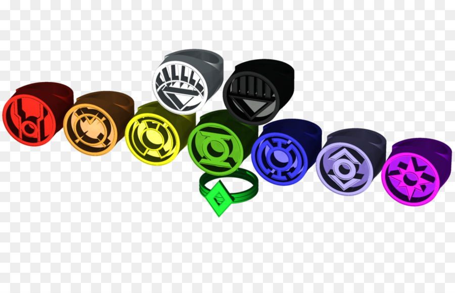 Power Ring Green Lantern Star Sapphire Art Three Dimensional Ring