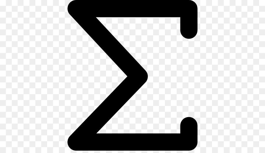 Summation Mathematics Symbol Mathematical Notation Sigma Summation