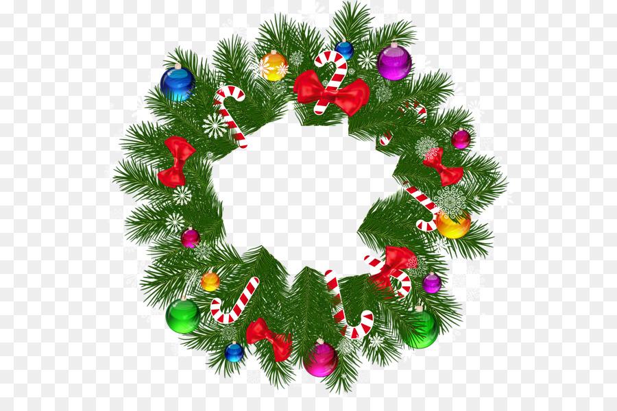 free christmas garland clip art