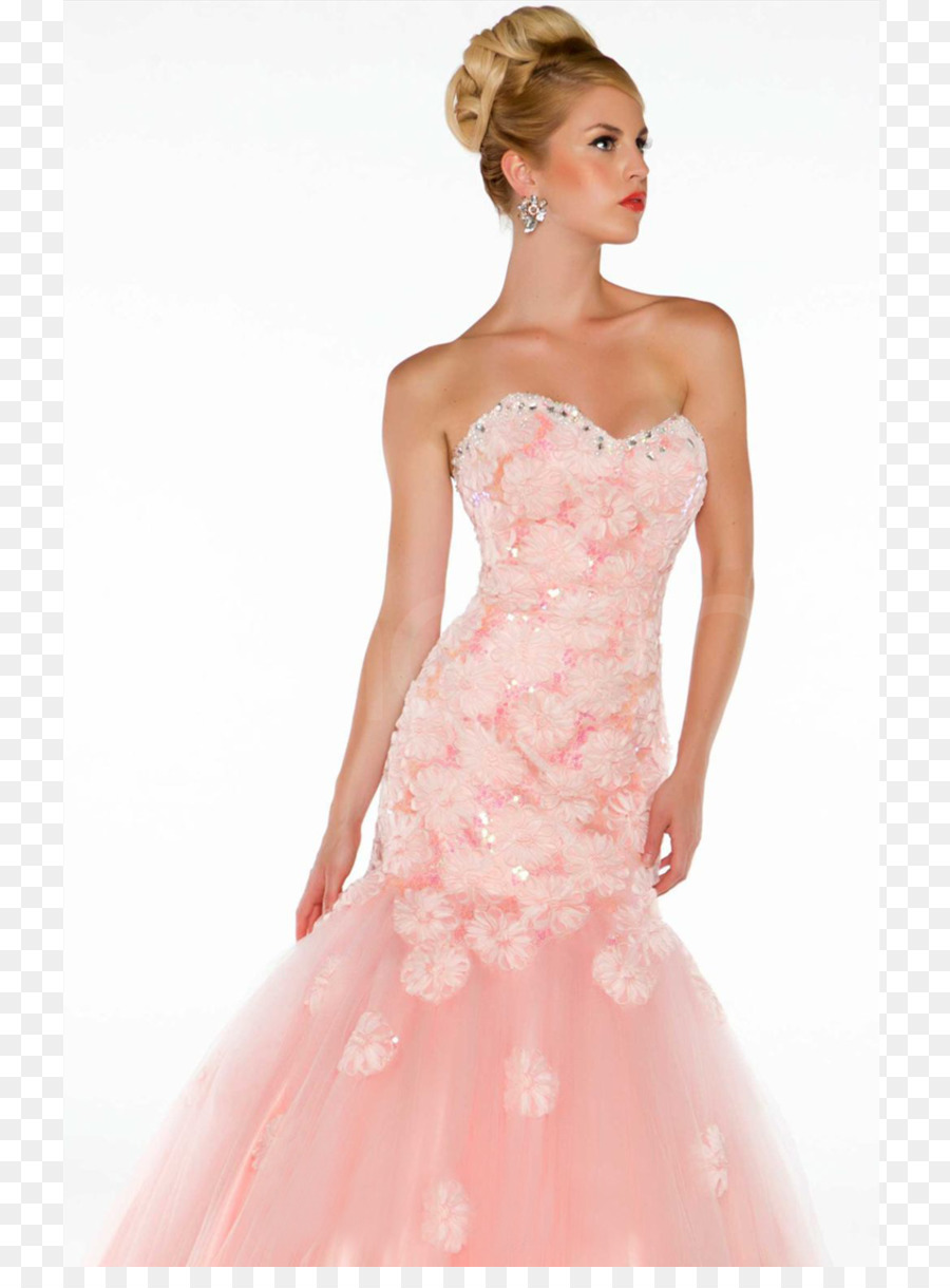 Wedding dress Gown Formal wear Prom - formal dress png download ...