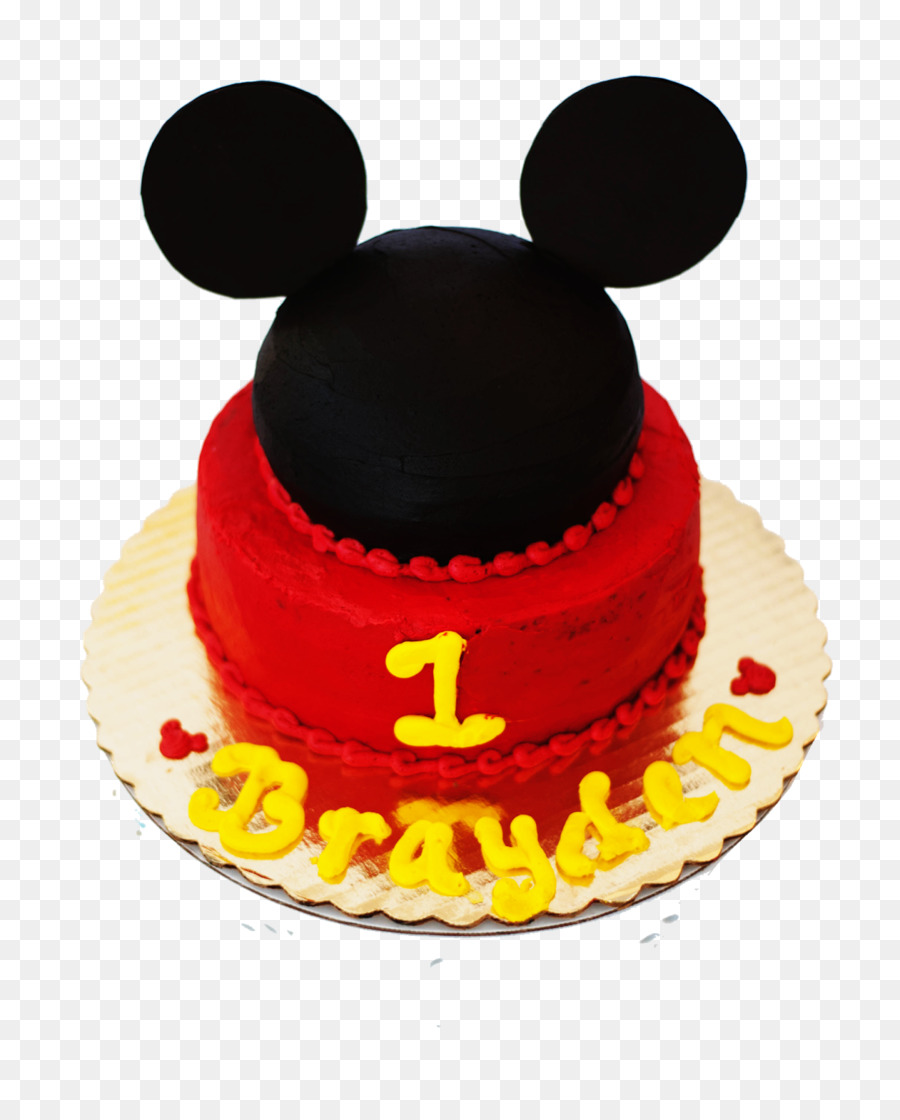 Torte Birthday Cake Fruitcake Sugar Paste Mickey Mouse Birthday