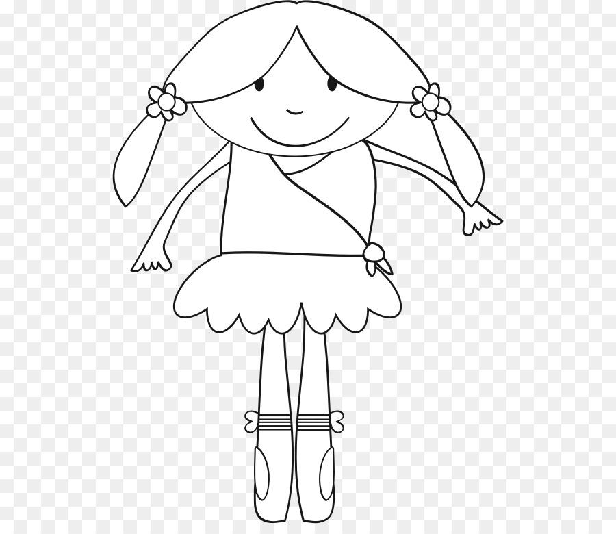 Libro para colorear Bailarina de Ballet Infantil - Ballet png dibujo ...