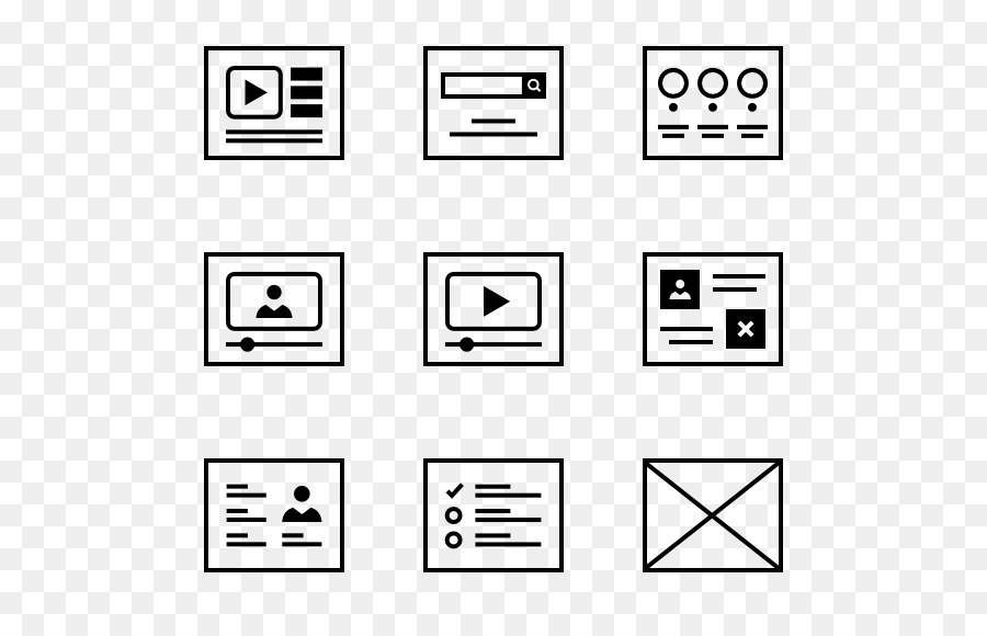 Computer Icons Symbol - wireframe vector png download - 600*564 ...