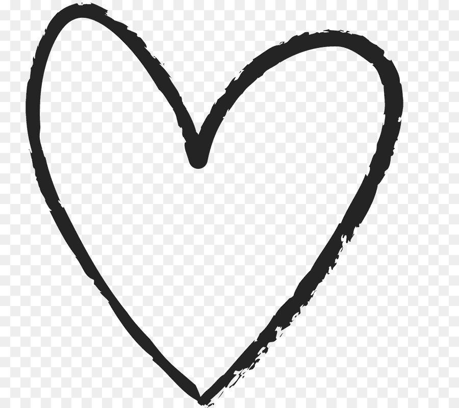 Heart Drawing Clip Art Hand Drawn Clipart Png Download 800 800