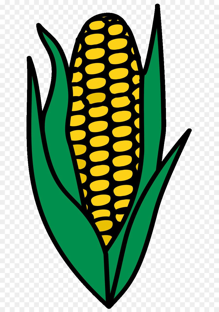 El maíz en la mazorca de maíz Dulce Maíz de Caramelo de maíz Clip ...