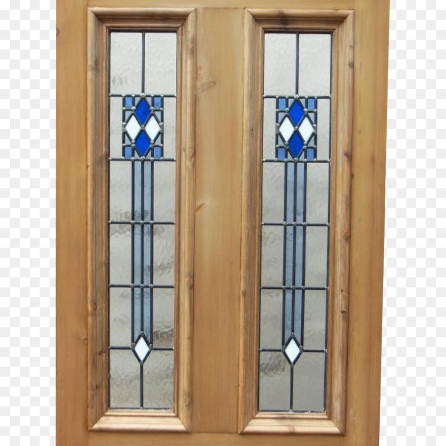 Window Art Deco Stained Glass Sliding Glass Door Door Handle Glass