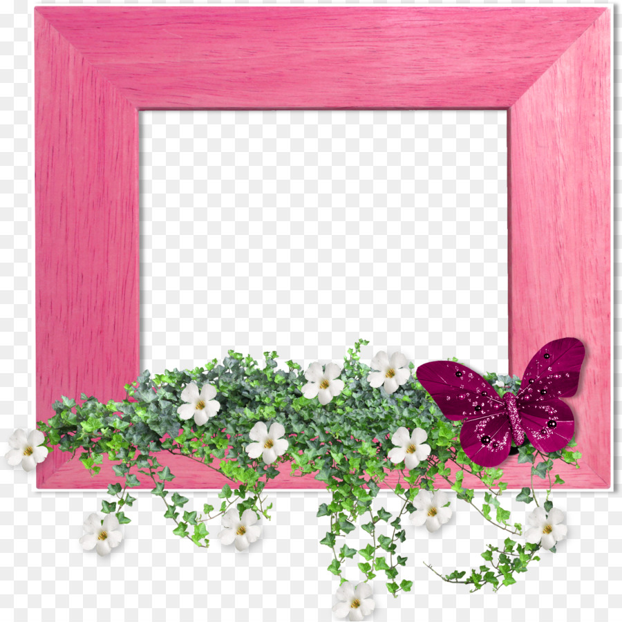 God Friendship Love Picture Frames - delicate floral png download ...