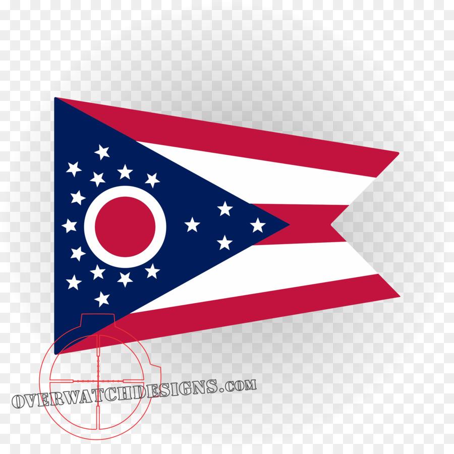 Bandera de Ohio Bandera de los Estados unidos bandera del Estado de ...
