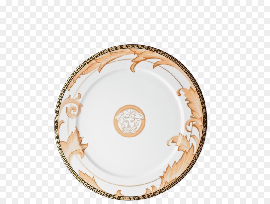 Tableware Platter Ceramic Plate Saucer - arabesque gold png download ...