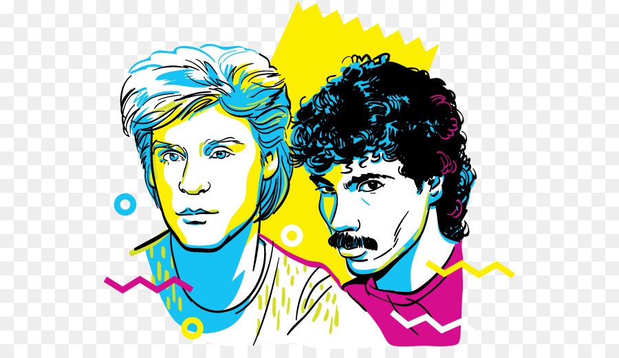 Image result for hall & Oates clipart