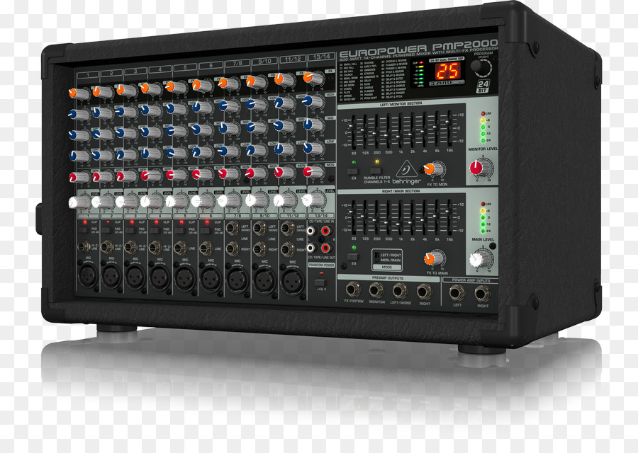 Audio Mixers Behringer Sound Equalization