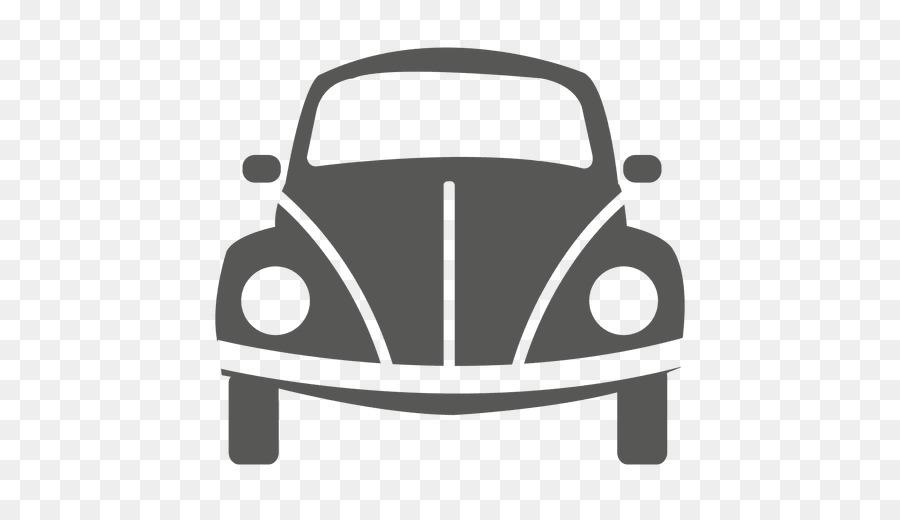 volkswagen beetle car drawing front vector png    transparent