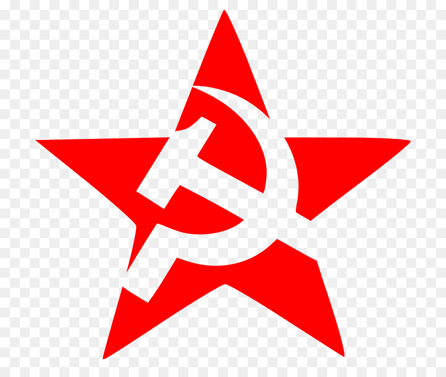 Soviet Union Hammer And Sickle Red Star Communism Fines Vector Png