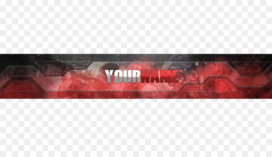 Youtube Banner Desktop Wallpaper Youtube Template Png Download