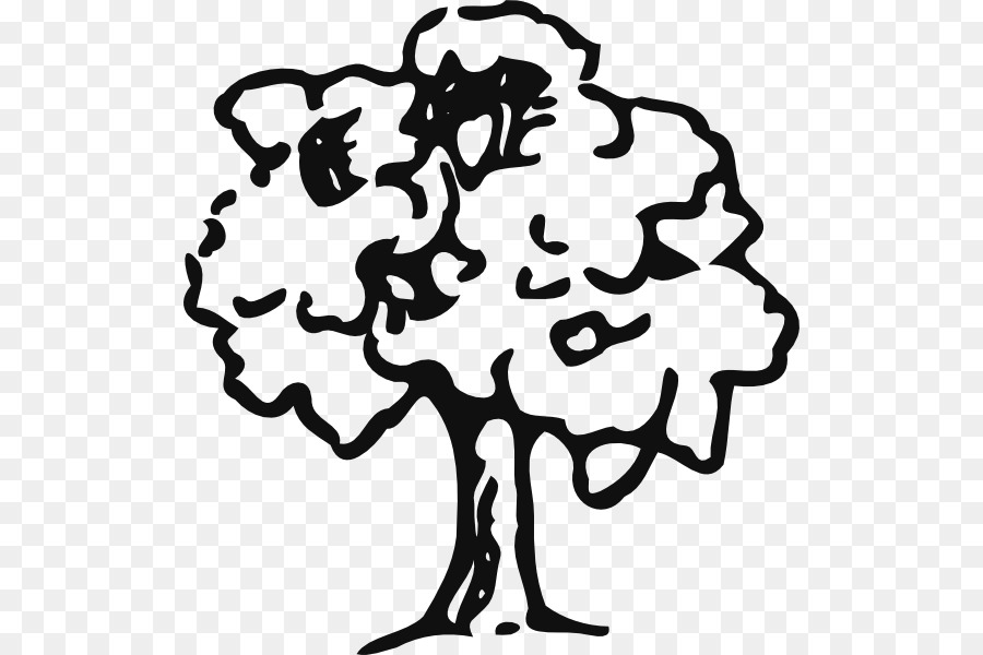 Tree Oak Drawing Clip Art