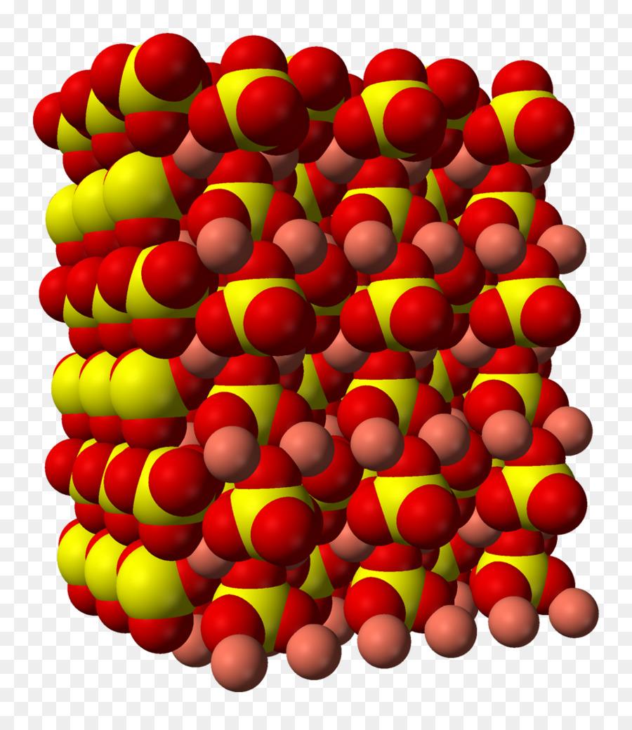 Kupferii Sulfat Kristallstruktur Chemische Verbindung