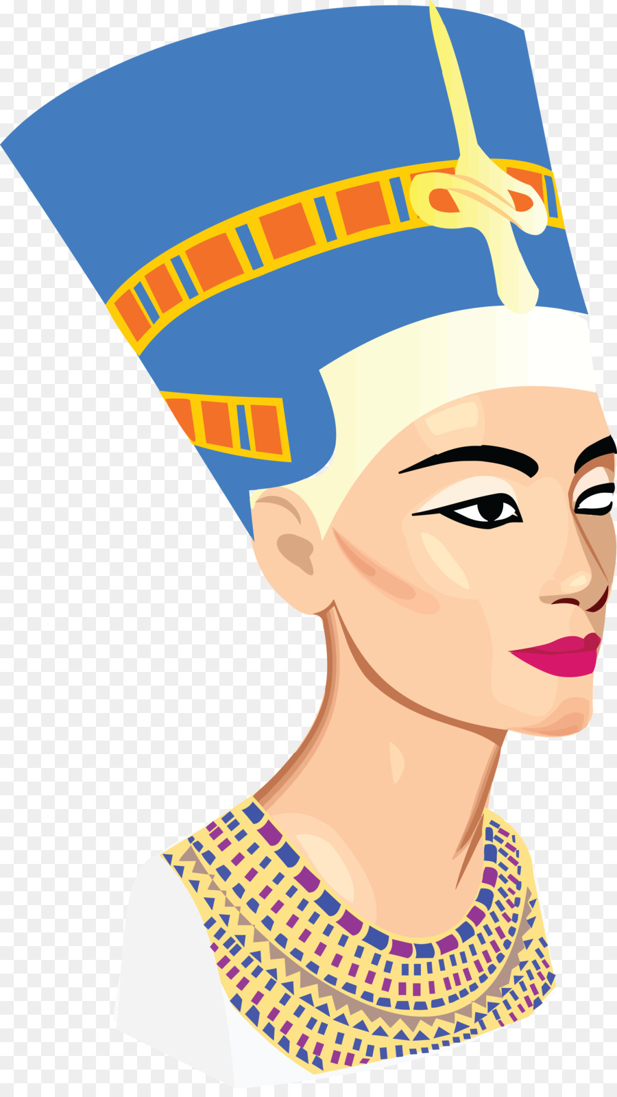 Nefertiti Bust Ancient Egypt Clip art - marilyn vector png download ...
