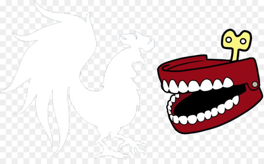 Diente humano Logotipo de Gallo Dientes - proteger los dientes ...