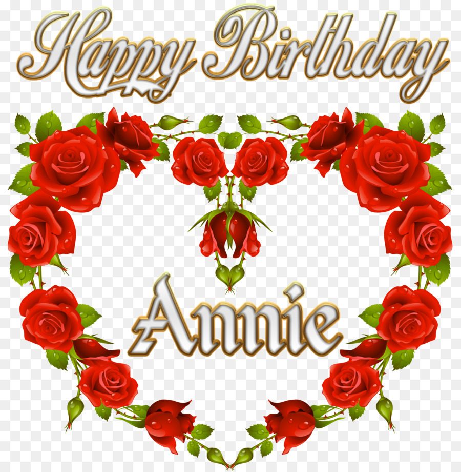 Rose Red White Clip Art Happybirthday Png Download 869919
