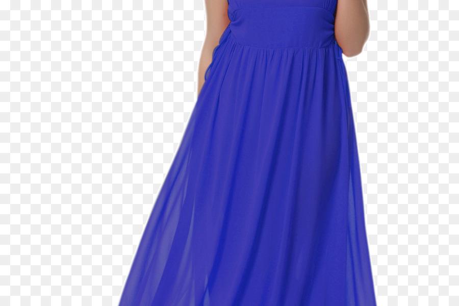 Vestido de cóctel de Satén azul Eléctrico Vestido - azul vestido de ...