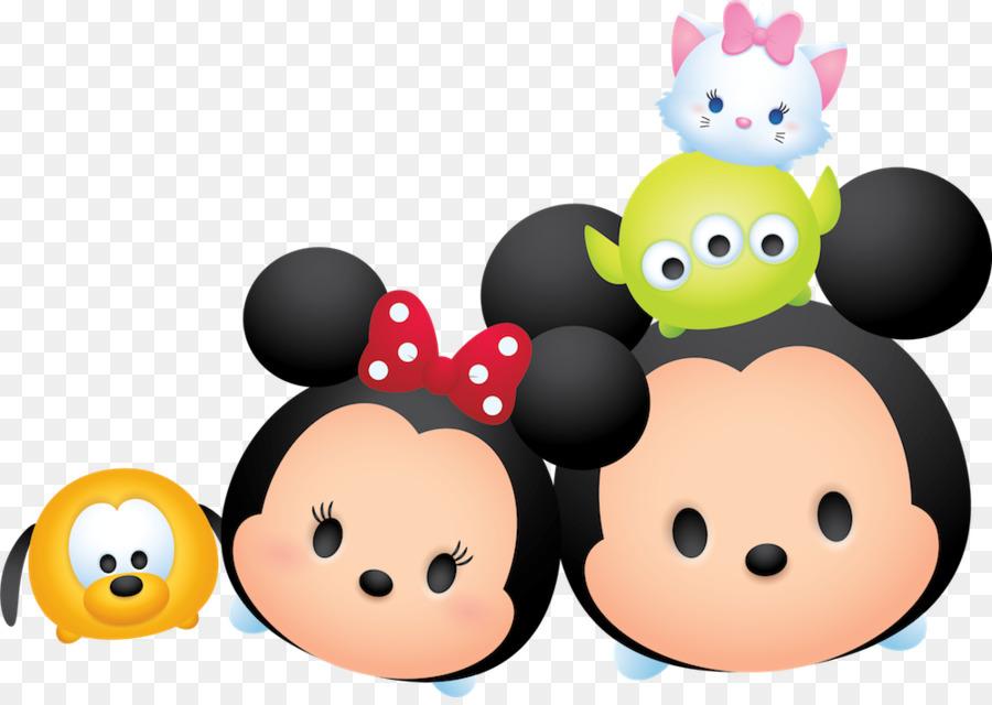 Disney Tsum Tsum Para Colorear Mike: Minnie Mouse De Disney Tsum Tsum De Mickey Mouse De Pato