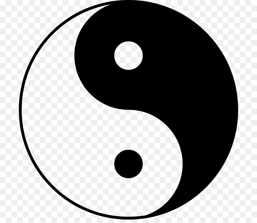 Taoism Symbol Yin And Yang Taijitu Taiji Png Download 768768