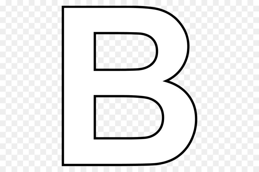 Letra del Alfabeto para Colorear libro Clip art - letra b png dibujo ...