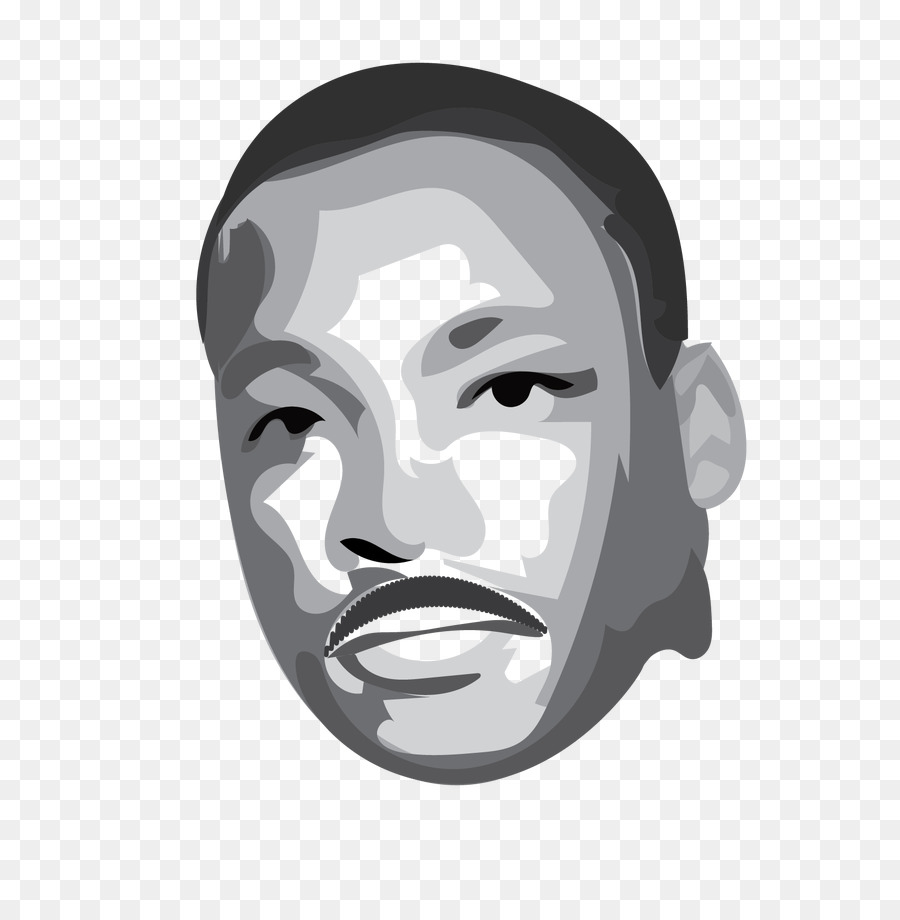 Martin Luther King Jr Day Animation Illustrator Motion Blur Png