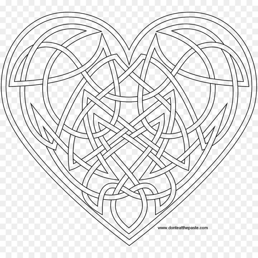 Nudo celta libro para Colorear de la cruz Celta Mandala arte Celta ...