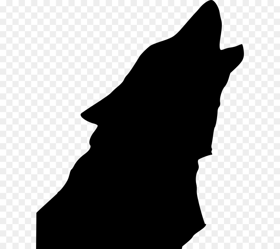 dog drawing silhouette clip art howl clipart png download 668 rh kisspng com clip art silhouette clip art silhouettes of people praying