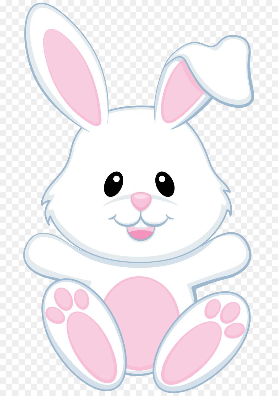Easter Bunny Rabbit Egg Clip Art