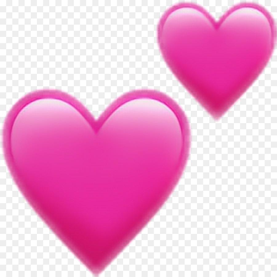 Emoji Heart Symbol Clip Art Emoji Png Download 10241024 Free