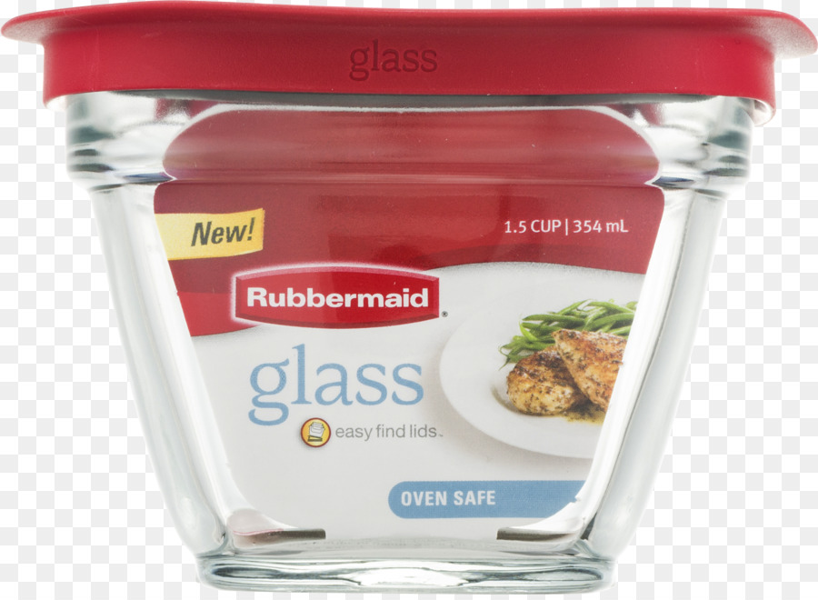 Food storage containers Rubbermaid Cup Glass container png