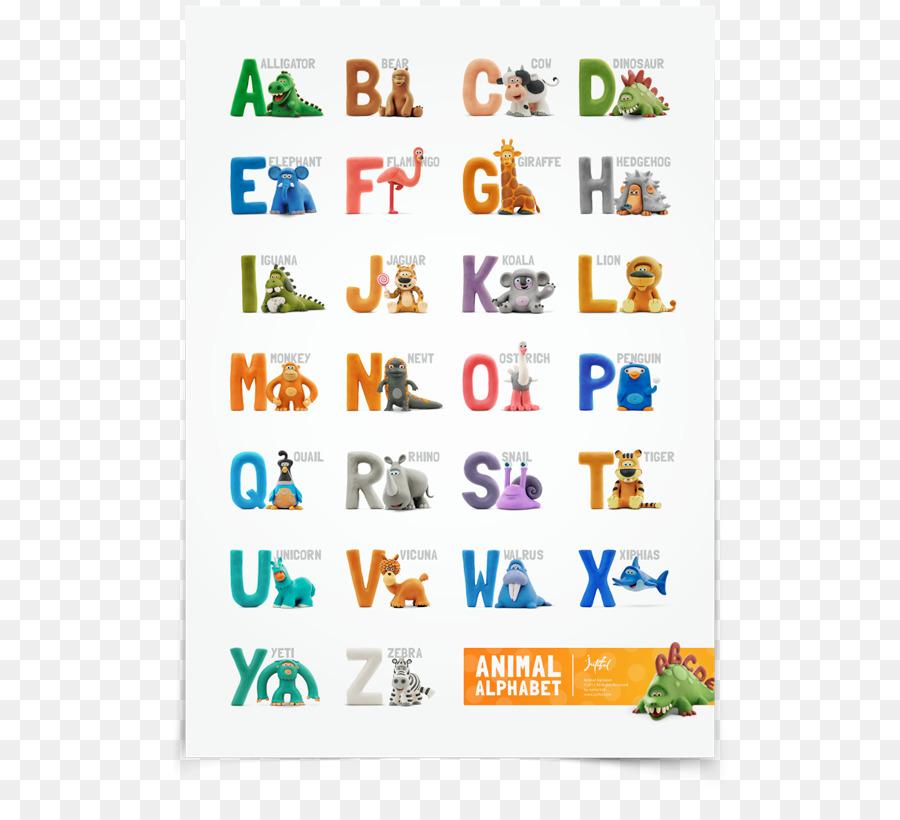 Los animales de la a a la Z del Alfabeto libro ABC de los Animales ...