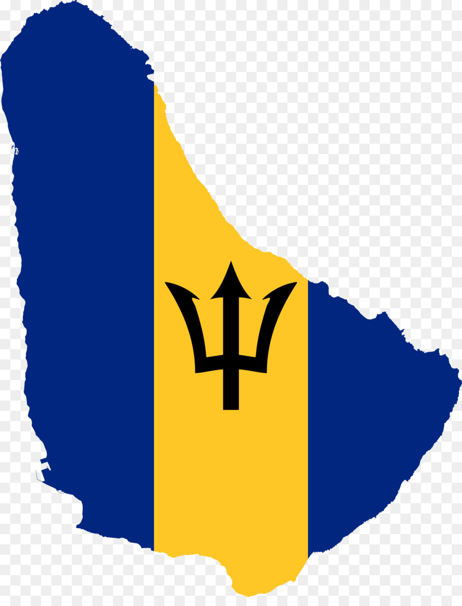 Flag Of Barbados Geography Of Barbados Map National Flag Economy